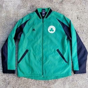Adidas NBA Boston Celtics Track Jacket Coat Mens